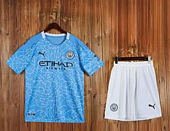 Футбольная форма Манчестер сити Manchester City 2020-21 домашняя