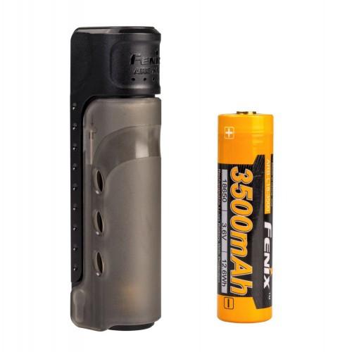 Зарядное устройство Fenix ARE-X11set + аккумулятором Fenix 3500 mAh [019] Black