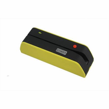 Энкодер пластиковых магнитных карт Bluetooth BTMSR портативный аналог MSR206, фото 2