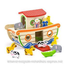 Сортер Viga Toys Ноев ковчег (51625), фото 2