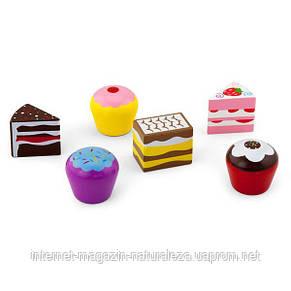Набор кулинара Viga Toys Пирожные 6 шт. (59533), фото 2