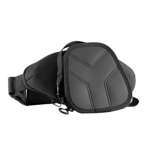 """Оперативна тактична поясна сумка """"9TACTICAL Casual Bag S MINI Y2019, [019] Black"""