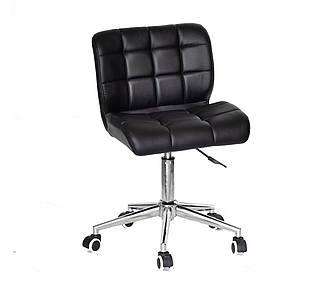 Офисный стул Сохо черная экокожа SOHO Modern Base на колесах