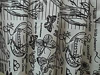 """Ткань для пошива скатертей рогожка Биология / """"Чарівна Ніч"""""""