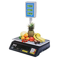 Весы торговые со стойкой до 50 кг настольные электронные D&T Smart DT-5053