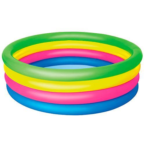 Детский надувной  Бассейн Bestway Rainbow