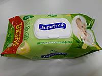 Салфетка влажная Superfresh 120 шт Алое