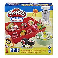 Игровой набор Hasbro Play-Doh Суши (E7915)