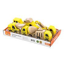 Набор машинок Viga Toys Стройтехника 6 шт. в дисплее (50541)