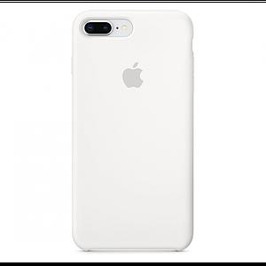 Silicone case Iphone 7/8 plus Белый