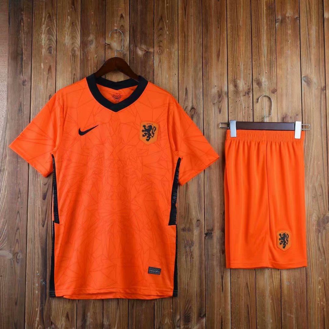 Футбольная форма сборной Голландии (Нидерланды) Euro 2020, домашняя