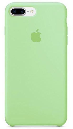 Silicone case Iphone 7/8 plus Мятный