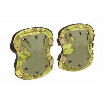 """Налокотники тактические """"LWE"""" (Lightweight Elbow Pads), [1234] Камуфляж """"Жаба Полевая"""""""