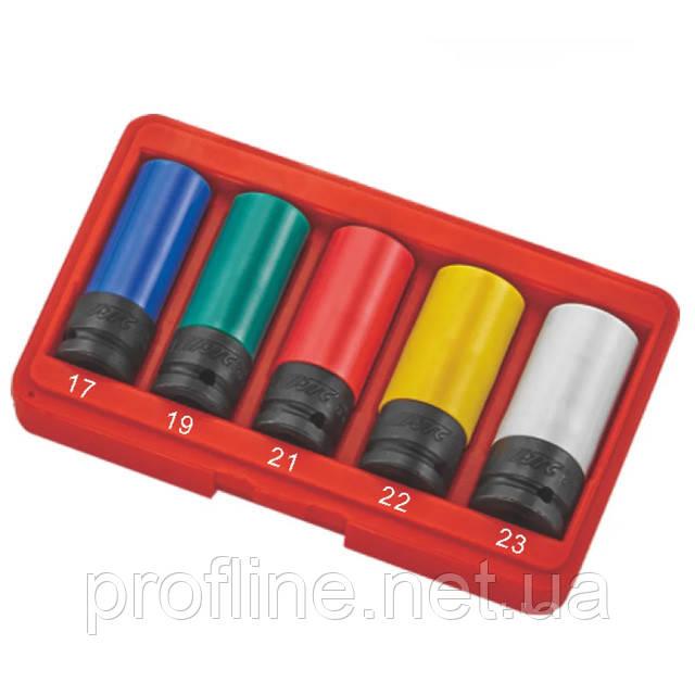 Набор головок ударных для литых дисков 17- 23 мм 5ед. 5530 JTC