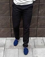 Чоловічі штани лляні чорні, фото 1