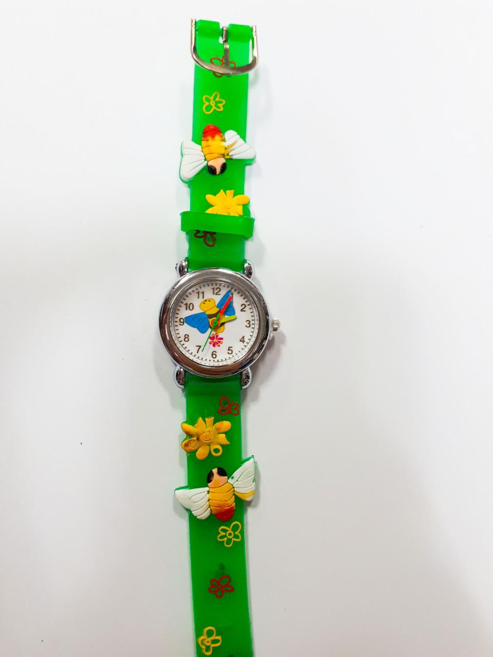 Часы детские Пчела Зеленый опт