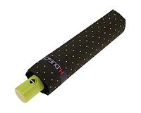 Зонт в горох цвета хаки H. DUE. O (полный автомат), фото 1