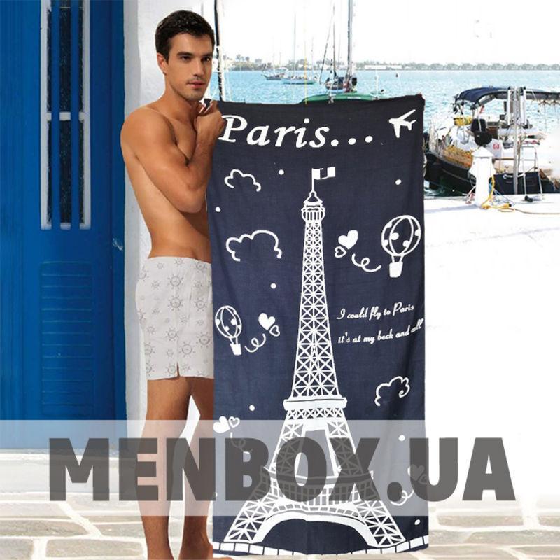 Пляжное полотенце Paris с Эйфелевой башней