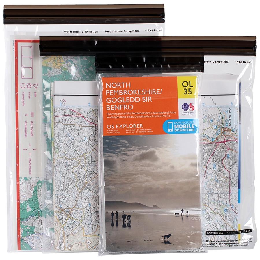 Lifeventure комплект чехлов DriStore LocTop Bags Maps