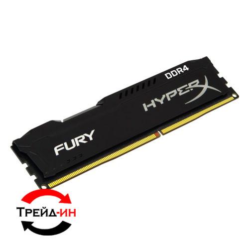 DDR4 4Gb Kingston HyperX Fury 2666 MHz HX426C15FBK2/8, б/у