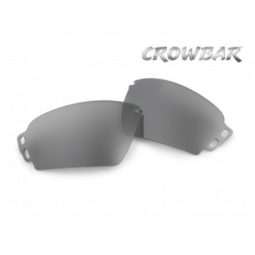 "Линзы сменные для очков Crowbar ""ESS Crowbar Mirrored Gray lenses"", [0552] Mirrored Gray"