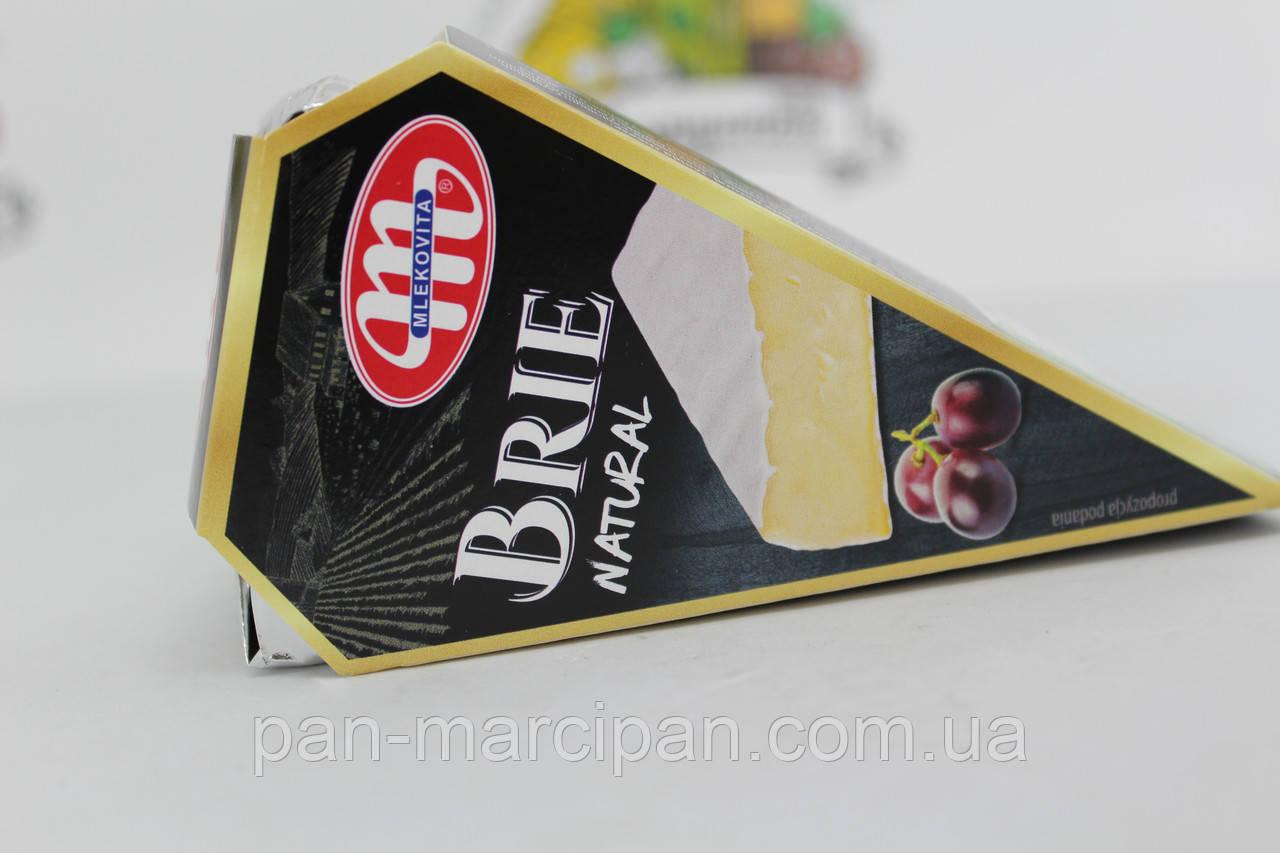 Сір Mlekovita Brie Natural 125 г Польща