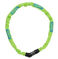 Велозамок ABUS 4804C/75 Steel-O-Chain Lime