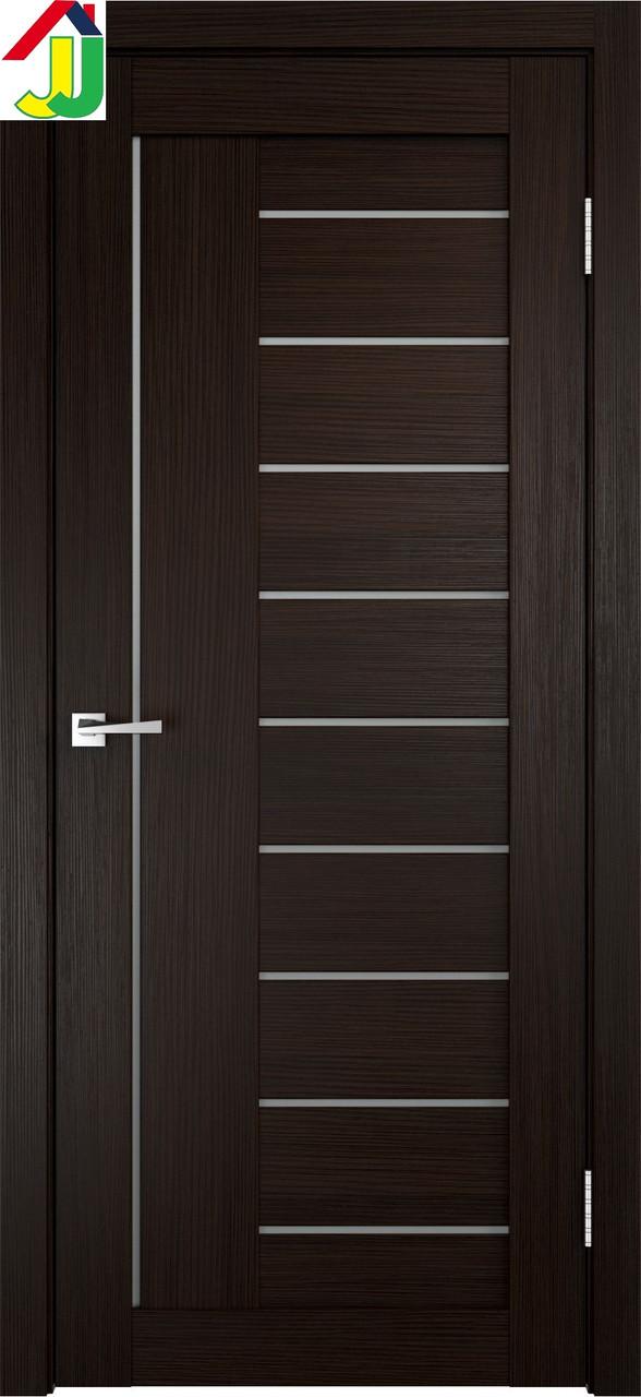 Двери межкомнатные LINEA 3x Венге, дверь для квартиры, дверь для дома, дверь в офис.