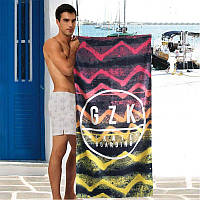 Полотенце для пляжа Sport Line с ярким рисунком