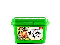 Паста соевая корейская классическая Самджанг Sam Jang Sempio 500 г, фото 1