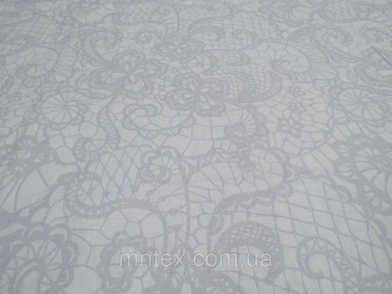 Ткань для пошива постельного белья поплин Аристократка
