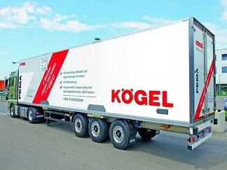 Прицеп KOGEL шторно - боротовой, рефрижератор