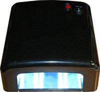 Лампа для ногтей и шеллака 818 UV 36 Вт, Черная