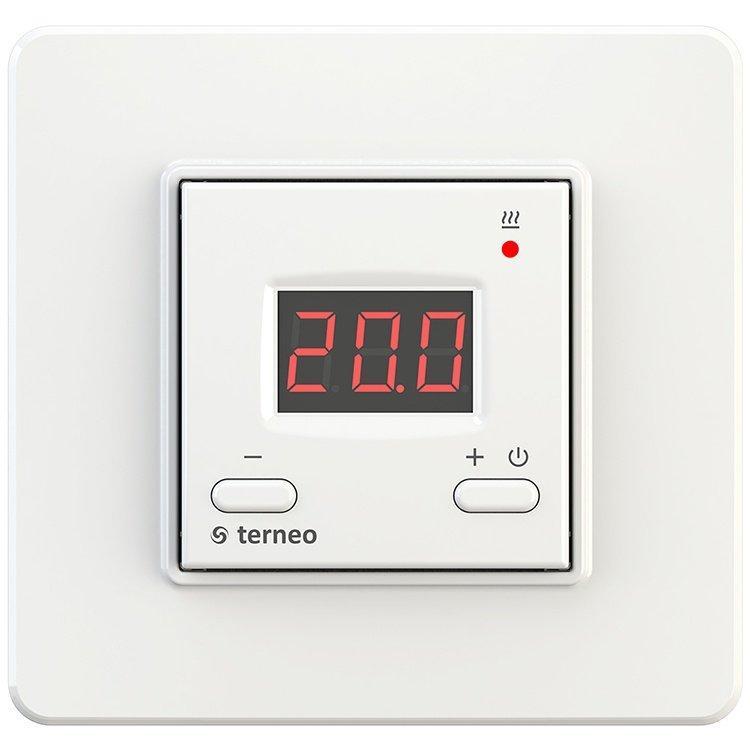 Терморегулятор terneo st, белый