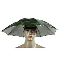 Зонт капелюх камуфляжна 65см