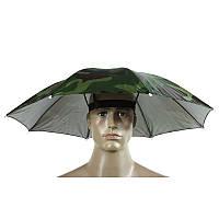 Зонт шляпа камуфляжная 65см
