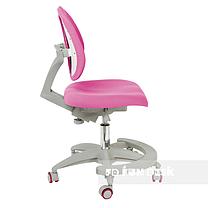 Комплект парта для принцессы Cubby Tulipa Grey+подростковое кресло FunDesk Primo Pink, фото 2