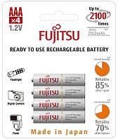Аккумулятор Fujitsu Ni-MH AAA/HR03 750mAh BL 4шт