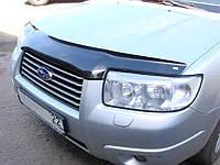 Дефлектор капота (мухобойка) Subaru Forester 2006-2007