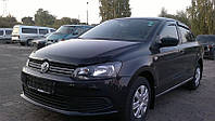 Дефлектор капота (мухобойка) Volkswagen POLO 5 хб/сд,2009-