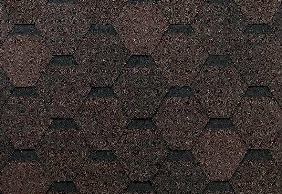 ОПТИМА  коричневый (3 кв.м упаковка)