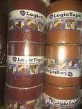 LOGICTAPE лента бутил-кауч, коричневая 100мм/3м, фото 2