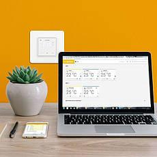 Терморегулятор terneo sx с Wi-Fi, слоновая кость, фото 2