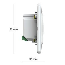 Терморегулятор terneo sx с Wi-Fi, слоновая кость, фото 3