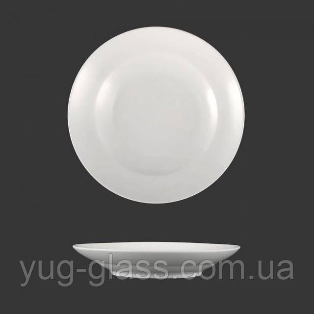 Суповая тарелка белая