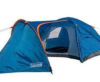 4-х местная туристическая палатка Coleman 1009 двухслойная с большим тамбуром