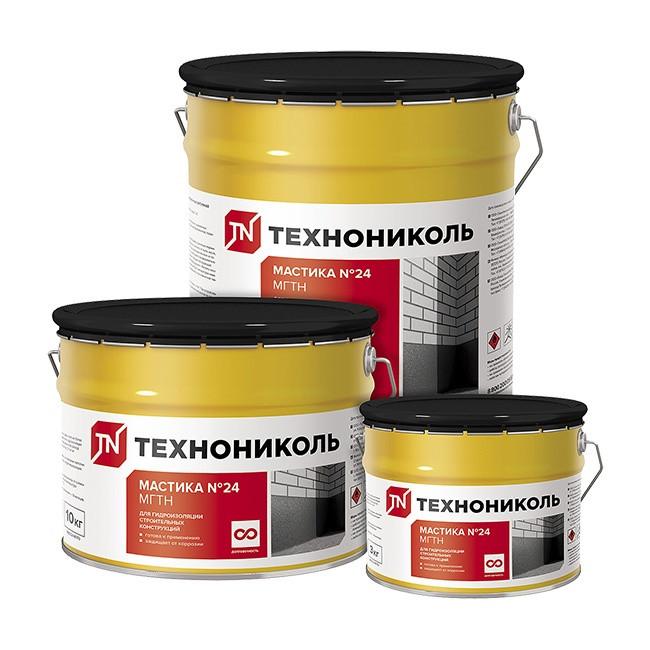 Мастика гидроизоляционная МГТН ТН №24 (20 кг)