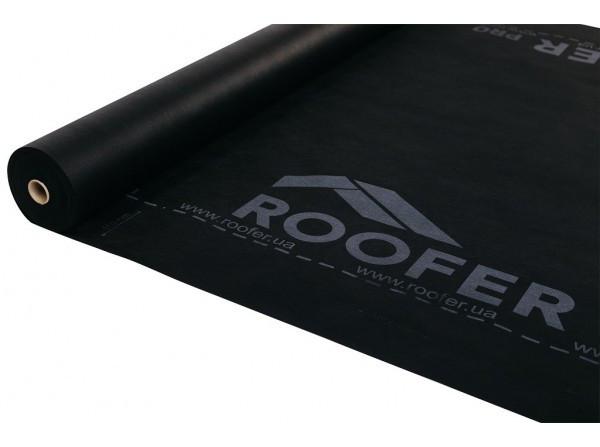 Ветрозащитная мембрана Roofer 90 черный (70 кв.м)
