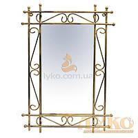 "Зеркало кованое на стену ""БАМБУК"" | Настенное зеркало в раме"