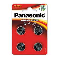Батарейка Panasonic CR 2032 BL 4 шт